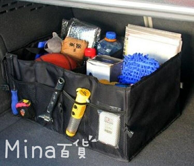 (mina百貨) 汽車儲物箱後備箱 汽車用品雜物工具箱行李箱多功能車箱儲物袋 G0008