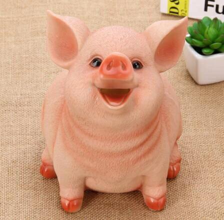 存錢罐 十二生肖小豬豬存錢罐儲蓄罐錢箱卡通豬玩具豬年禮物蛋糕擺件