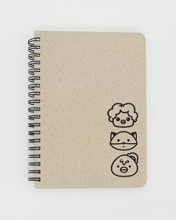 做你的白日夢特展環裝筆記本-鬼門圖文精選插畫款
