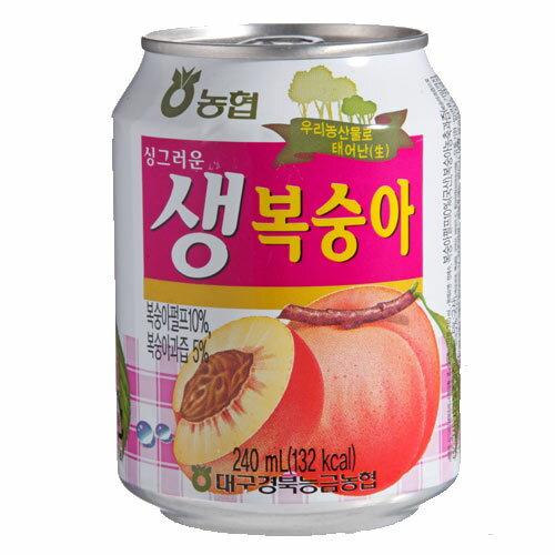 <br/><br/>  ★超值2件組★J-韓國水蜜桃飲240ml.【愛買】<br/><br/>