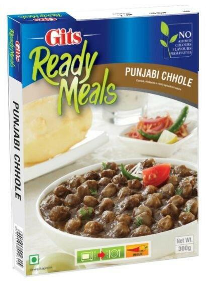 印度雞豆咖哩即食調理包  Punjabi Chhole GITS 300gm