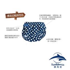 Konfidence康飛登AquaNappy嬰兒游泳尿布褲-點點藍482元【現貨3組】