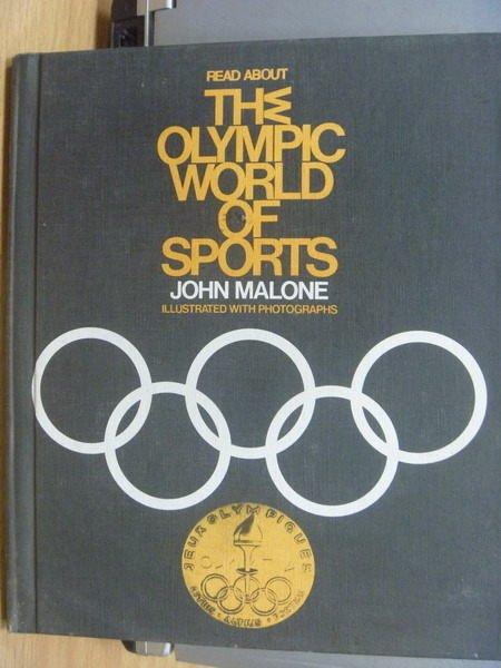 【書寶二手書T8/歷史_YBH】The Olympic World of Sports_1971年