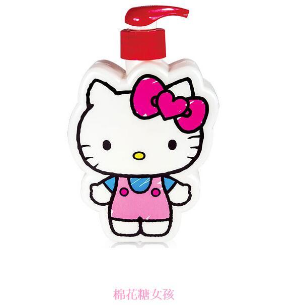 ☆Hello Kitty☆凱蒂貓『40週年限定』插畫風造型SPA禮盒(2造型沐浴公仔) 附Kitty櫻花精美紙提袋 2
