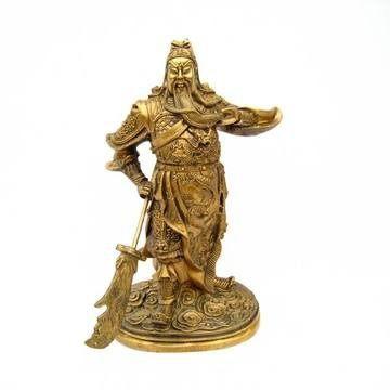 神爺佛像關公 招財吉祥裝飾擺件19.5cm