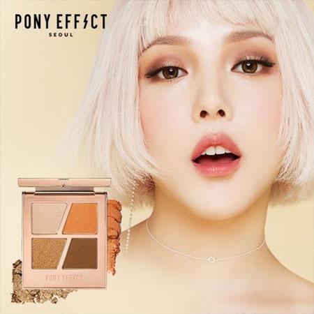 韓國 MEMEBOX PONY EFFECT 韓妞4色訂製眼彩盤 6g 眼影盤 4色眼影【B062656】