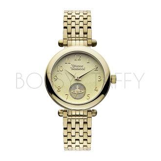 Vivienne Westwood 時尚金色調不鏽鋼腕錶 VV051CPGD Primrose Gold Tone Stainless Steel Watch