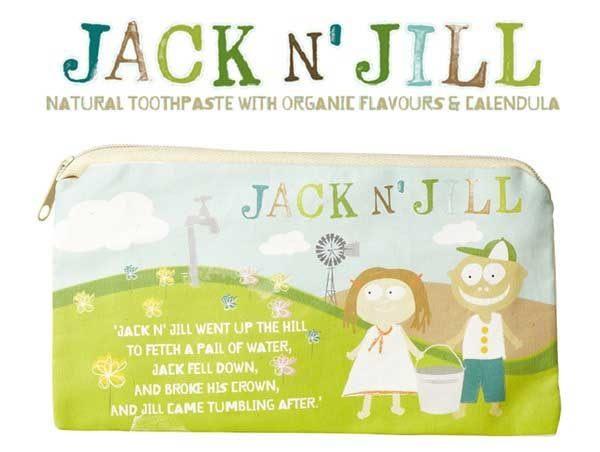 【澳洲Jackn'Jill】JackandJill純棉外出旅行包收納包