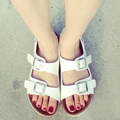 涼鞋 歐美流行經典時尚軟木風涼鞋(35~40)【S914】☆雙兒網☆ 2