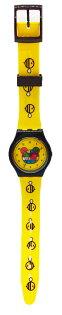 ART-ZOO特展塑膠手錶-彩色熊款