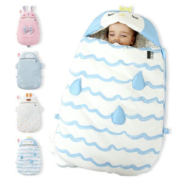 嬰兒抱被 新生兒感溫睡袋 包巾睡袋-Joybaby