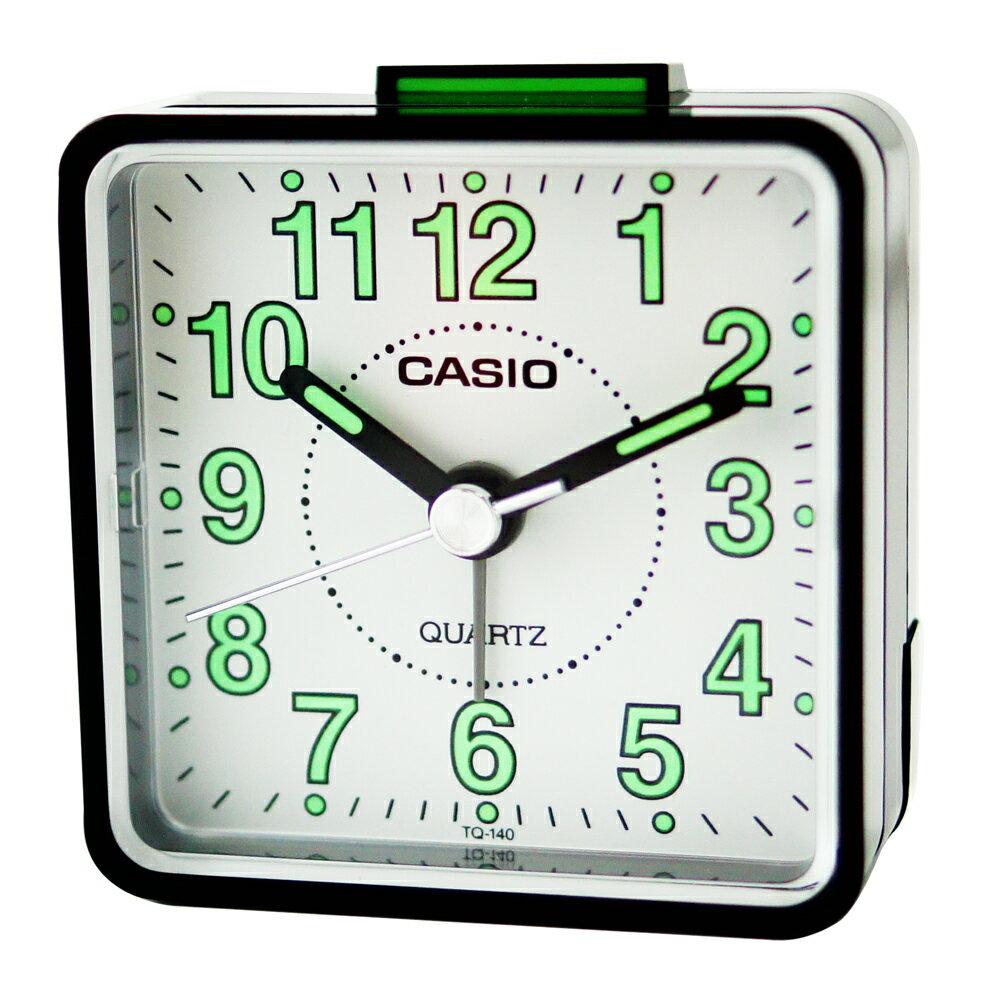 CASIO 卡西歐 TQ-140 袖珍型夜光石英鬧鐘 3