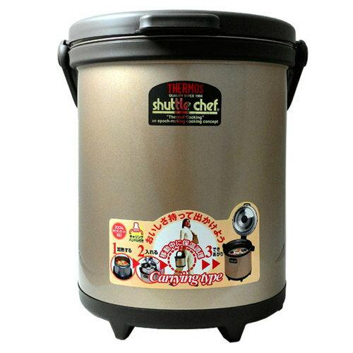 THERMOS 膳魔師 不鏽鋼真空燜燒鍋-單鍋 (RPC-6000W) 6L