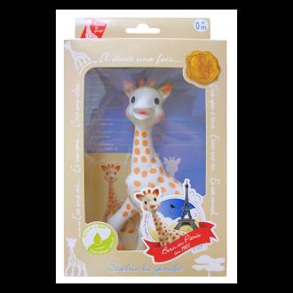【法國Vulli】蘇菲長頸鹿 固齒器 禮盒裝