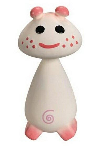 【法國Vulli】蘇菲家族 蘑菇頭固齒器 粉紅色 禮盒裝