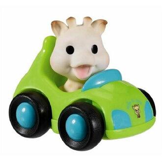 【法國Vulli】蘇菲長頸鹿兜風去 玩具車 泡殼裝
