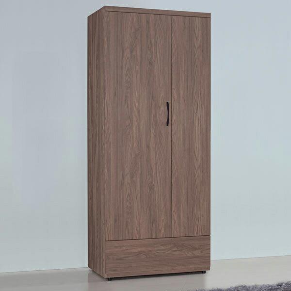 優世代居家生活館:衣櫥衣櫃收納櫃櫥櫃衣物收納置物櫃開門衣櫥《YoStyle》妮克2.7x7尺單吊衣櫃