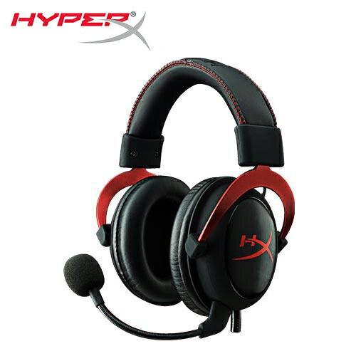 HyperXCLOUDII電競耳機-酷炫紅(KHX-HSCP-RD)【三井3C】