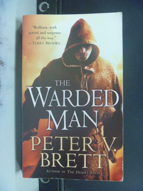 【書寶二手書T2/原文小說_OHZ】Warded Man_Brett, Peter V.