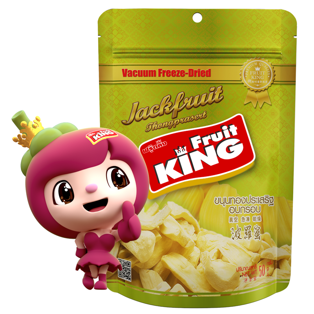 【Fruit King鮮果乾】波羅蜜50g