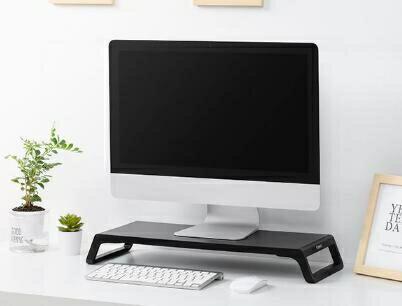 螢幕架 電腦顯示器增高支架辦公室桌面架子收納盒底座筆記本TW
