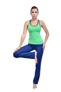 TH3 瑜珈專門店:TH3YOGA直筒長褲褲腰拼色長褲加拿大品牌瑜伽