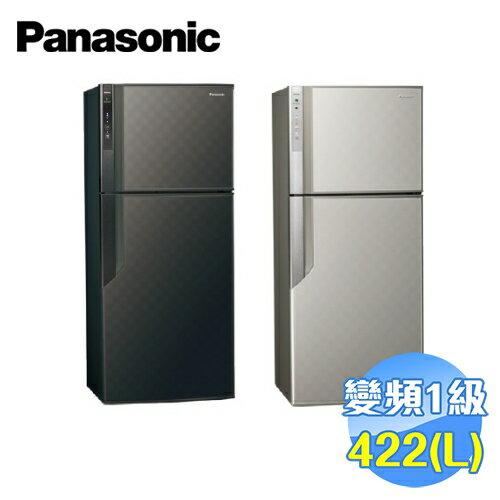 國際 Panasonic 422公升 雙門變頻電冰箱 NR-B429GV