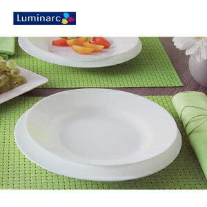 永大醫療~法國 Luminarc樂美雅 純白2件式餐盤組 一組300元