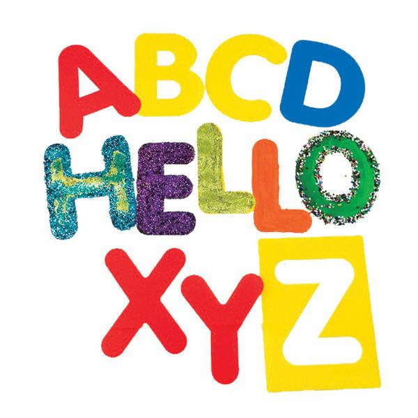 【華森葳兒童教玩具】美育教具系列-大型字母模板-大寫英文字母 L1-AP/2112/ASUC