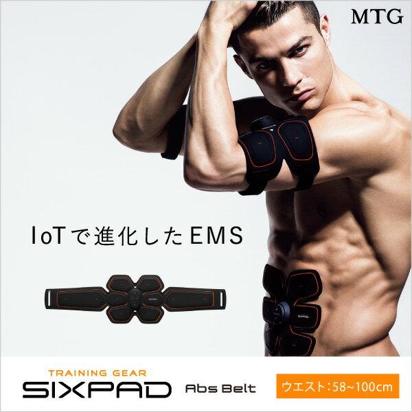 日本必買免運代購-日本MTGSixpad智能健身腹肌腰帶58cm~100cm9990410101。共1色