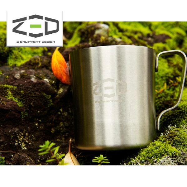 ZED雙層不鏽鋼杯250ZCABA0202城市綠洲(304不銹鋼、杯子、露營杯、韓國品牌)