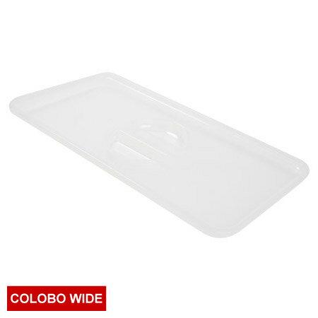 COLOBO WIDE收納盒盒蓋 CLEAR 透明 NITORI宜得利家居