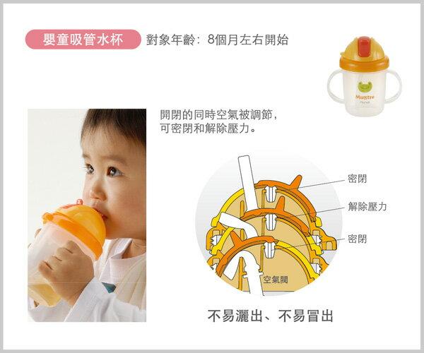 Richell利其爾 - Mugtre嬰童吸管水杯/莫哭杯 200ml (橘) 3