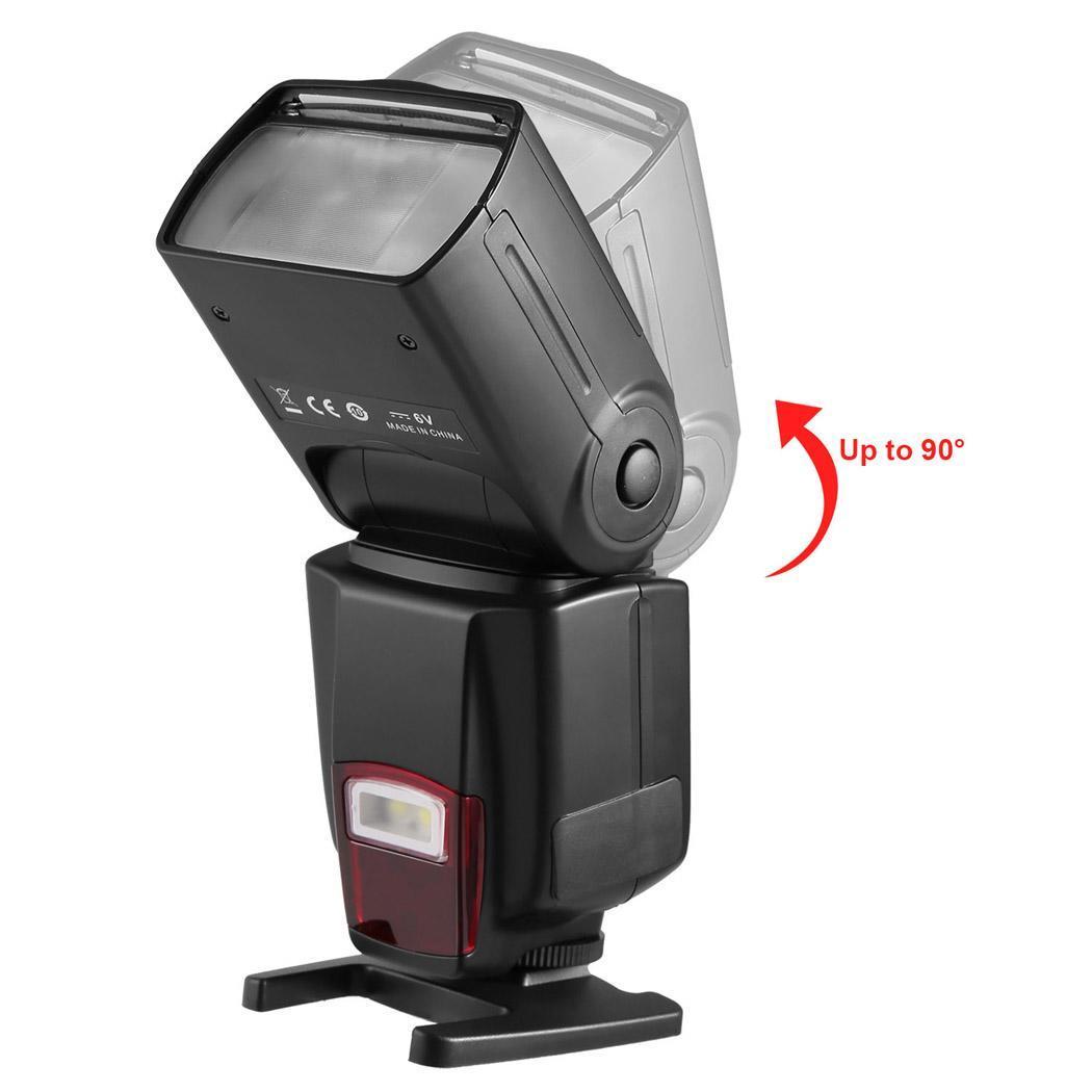 Flash Speedlite DSLR Cameras Digital Cameras Flash Light with Protecting Bag 3