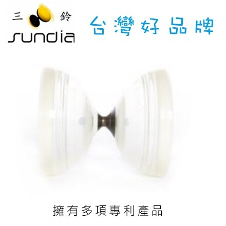 SUNDIA 三鈴 炫風單培鈴系列 SH.1B.CC炫單透白 / 個