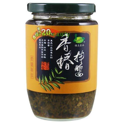 美綠地 香椿拌醬 330/罐 ~香椿增加20%~