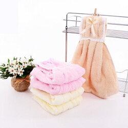 PS Mall 吸水廚房創意衣裙舒適可掛式面巾可愛擦手巾 【J304】