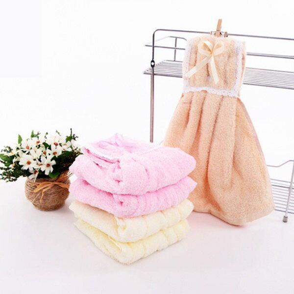 PSMall吸水廚房創意衣裙舒適可掛式面巾可愛擦手巾【J304】