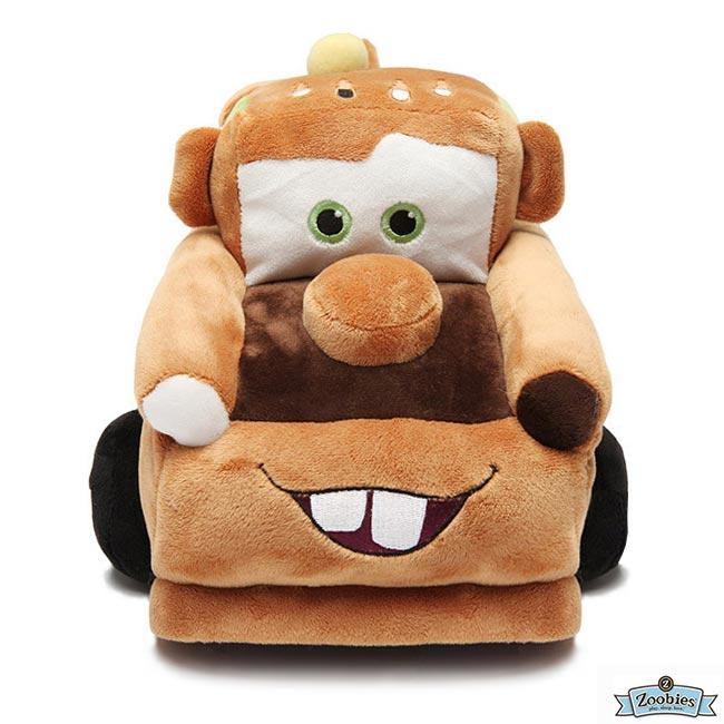 **雙子俏媽咪親子館** 美國ZOOBIES X DISNEY 迪士尼多功能玩偶毯 / 毛毯 / 玩偶 / 抱枕 【正版授權】- 脫線 Mater