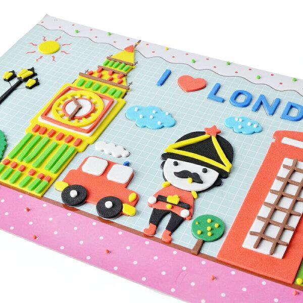 【省錢博士】立體粘貼紙海綿黏貼玩具DIY材料