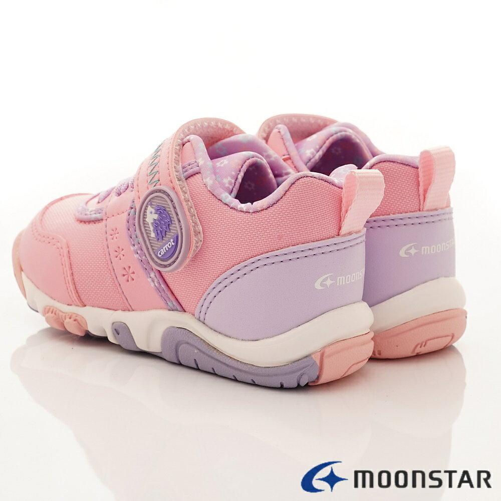 日本Moonstar月星機能童鞋2E穩定款-CRC22754粉(中小童段) 5