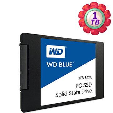 WD Blue PC 1TB 1T SSD【WDS100T1B0A】2.5吋 SATA 6Gb/s 固態硬碟