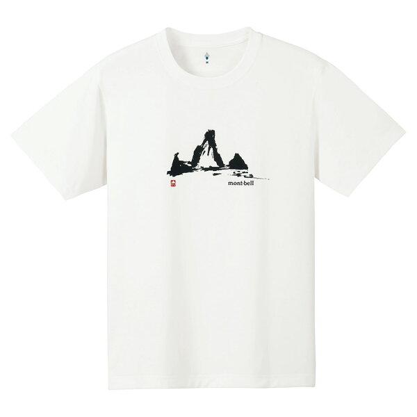 ├登山樂┤Mont-BellWICKRONT-SHIRT男透氣排汗短袖#1114145