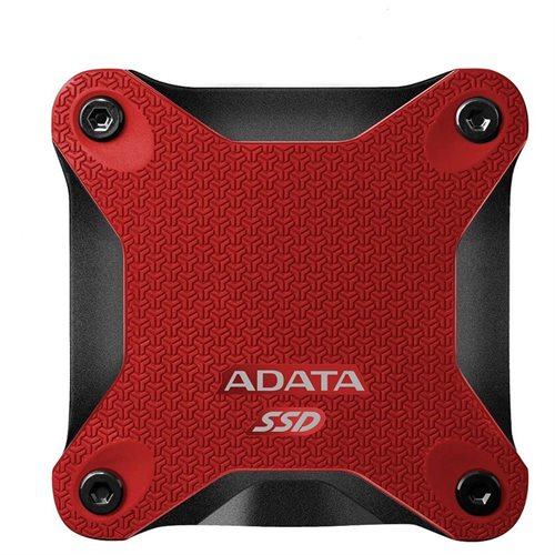 ADATA Durable SD600 3D NAND USB 3.1 External SSD 512GB Red (ASD600-512GU31-CRD) 0