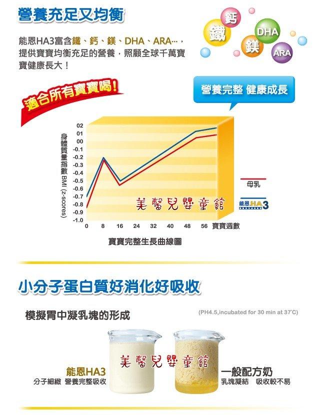 *雙12*整點特賣-雀巢 Nestle - 能恩HA3(水解蛋白配方)奶粉800g「1~3歲」- 6罐 4