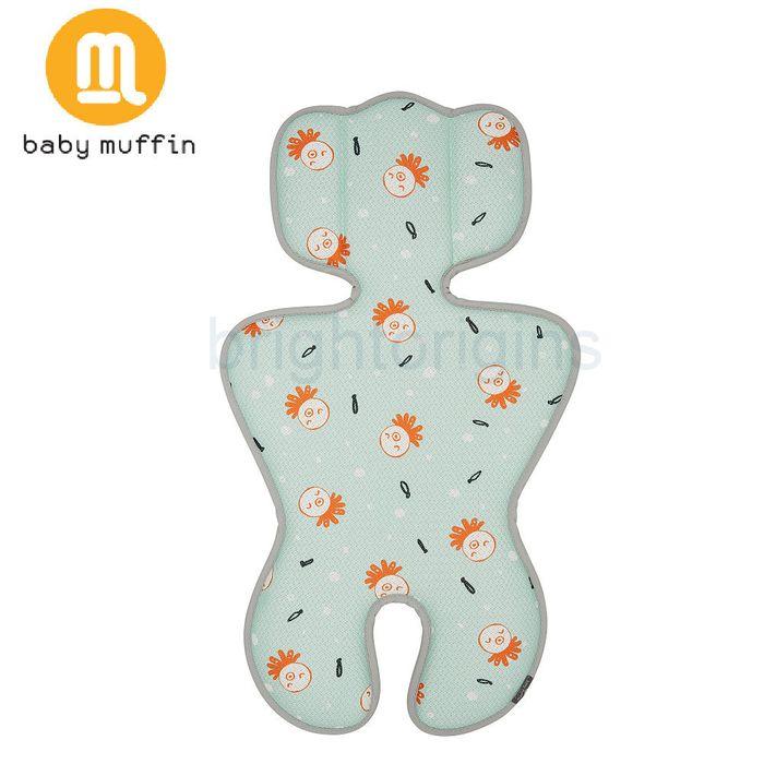 baby muffin 推車汽座兩用3D透氣墊/ 涼墊(海藍章魚)★ 衛立兒生活館★