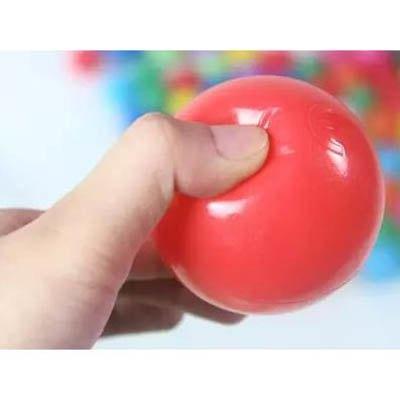 【5色海洋球-直徑5.5cm-100個/套-1套/組】兒童帳篷海洋球洗澡戲水玩具(可混搭)-7701005
