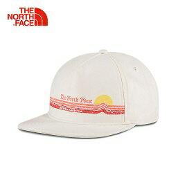 [ THE NORTH FACE ] 梭織帽 復古白 / 棒球帽 / 公司貨 NF00CF8L11P