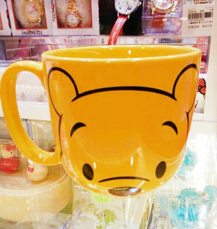 【真愛日本】15101300011 樂園限定大馬克杯-維尼 預購POOH 迪士尼樂園限定 馬克杯 杯子 餐具