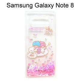 雙子星透明流沙軟殼 [糖果] Samsung Galaxy Note 8 N950FD (6.3吋)【三麗鷗正版授權】